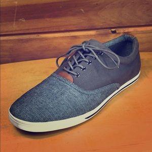 Aldo 🔷 Men's Denim Canvas Sneaker Shoes 10.5